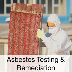 Asbestos Testing & Remediation