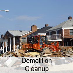Demolition Cleanup